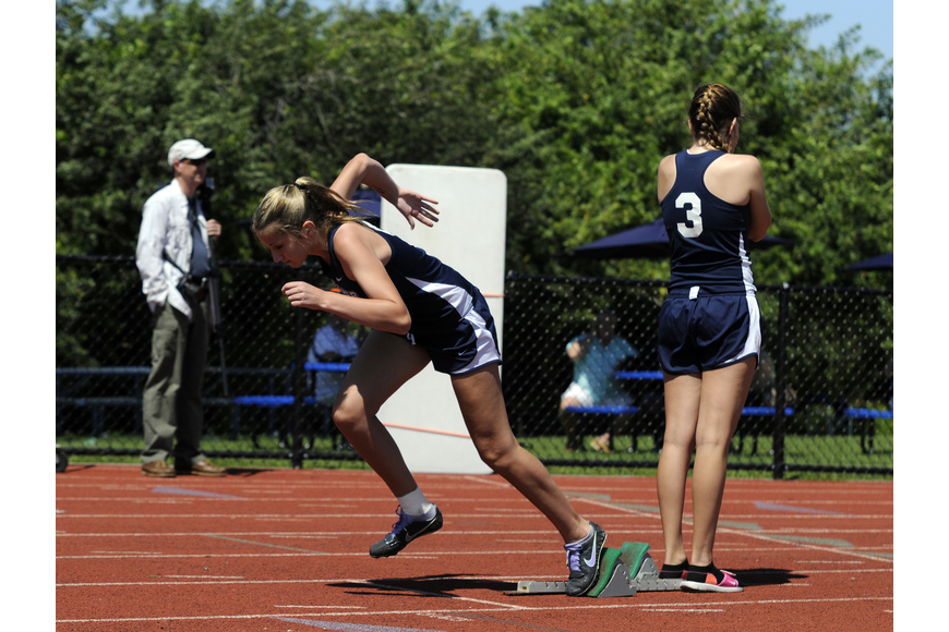 ODA freshman Chloe Ruppert finished fifth in the 400-meter dash in 1:12.45.