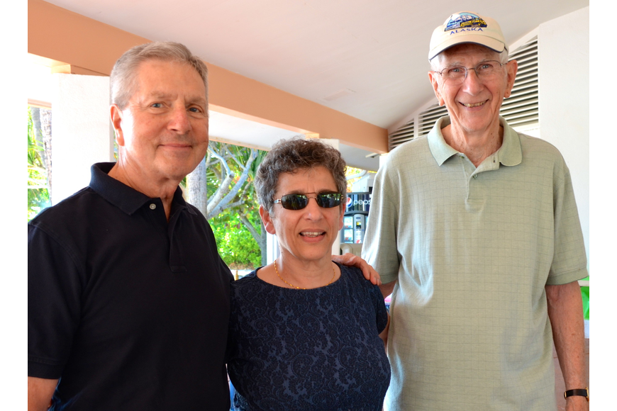 Don Judd, Wafa Danner and Bill Smith