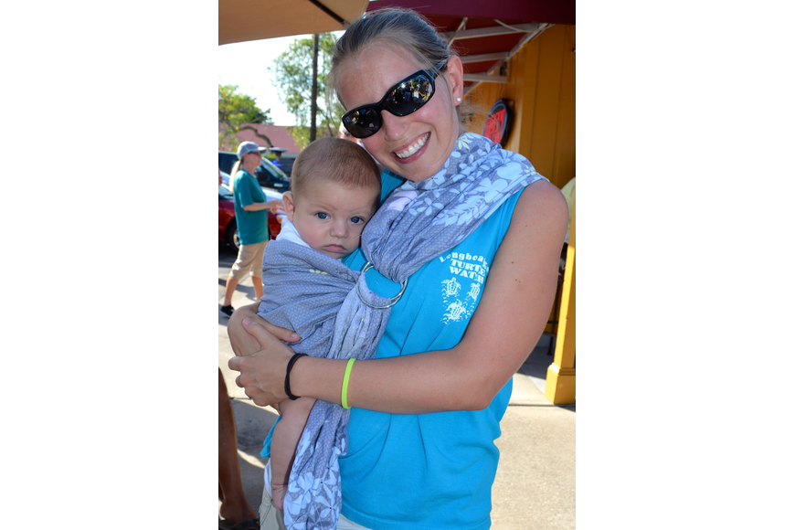 Lindsey Conrad with her son, Kai