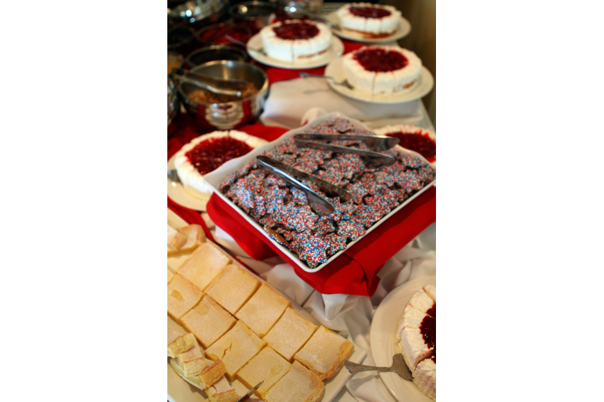 Patriotic desserts were on display Saturday, May 28 at Bird Key Yacht Club's Memorial Day party.