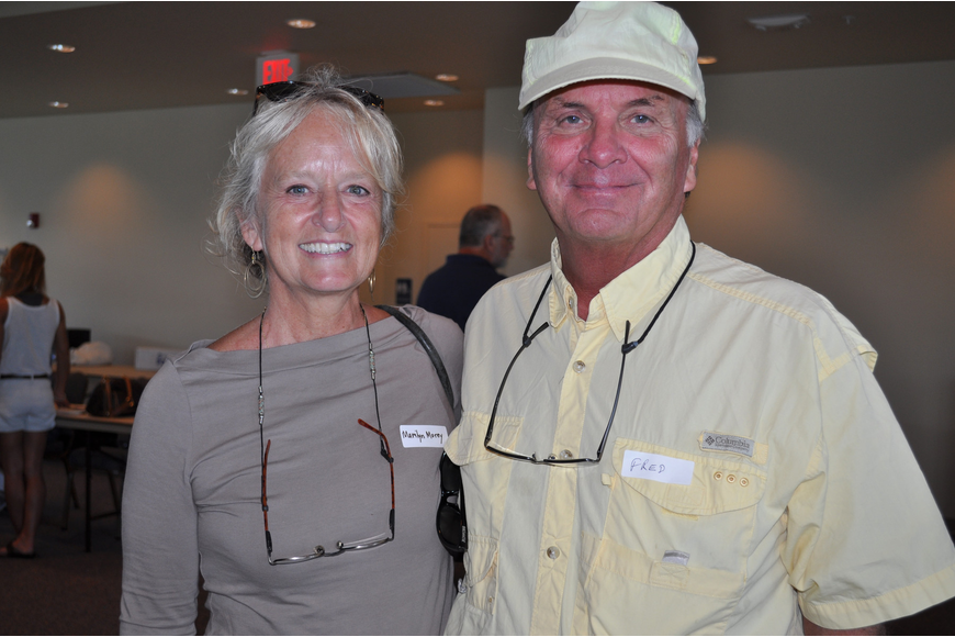 Marilyn and Fred Morey love Mote and wanted to learn about the opportunities for volunteers and how to get involved.
