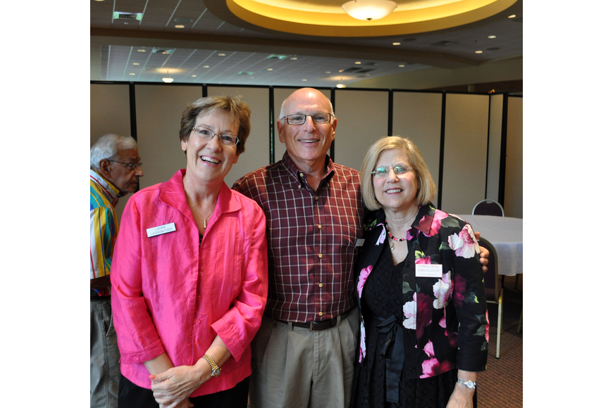 Laurie Lachowitzer, Marc Rosen and Elana Margolis