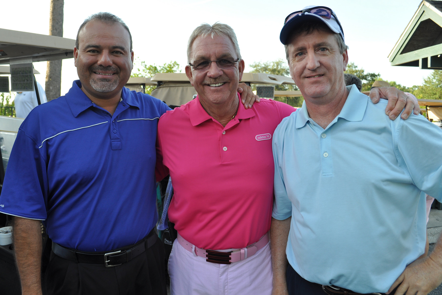 Eddie Rodriguez, Bob Gilliam and David LeBlanc