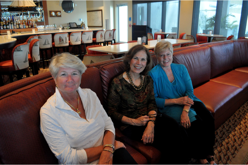 Linda Leon, Joan Peters and Barb Tafaro