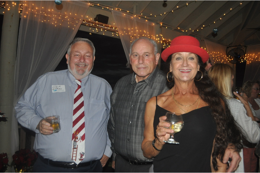 "Jack Dean of G Fried, Vince LaPorta of Longboat Key Club, Suzanne Stacy of Suzanne's ""J.A.P."" Service"
