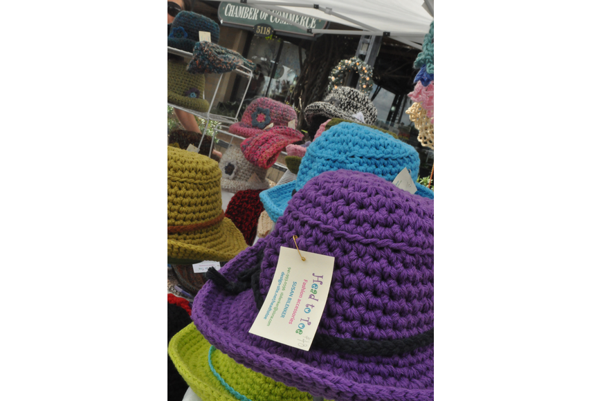 Crocheted hats from Head to Toe accessories