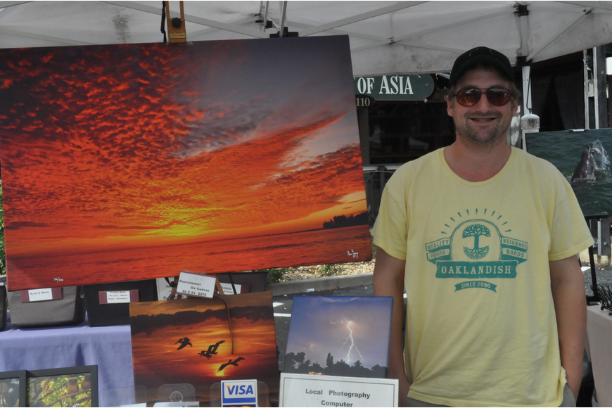 Sean Looney has been photographing since childhood. He sells his photographs at the Siesta Key Farmers Market and the Sarasota Farmers Market