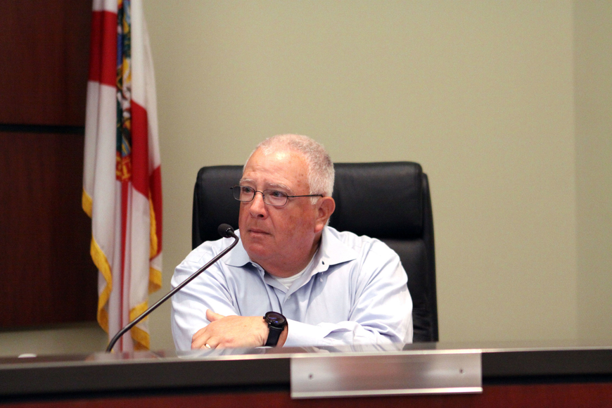 Terry Gans took the at-large seat vacated by Hal Lenobel during a July 18 special commission meeting.