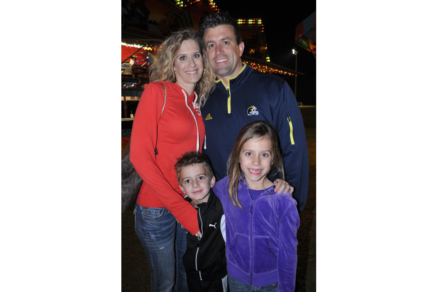 Christy and Jason Green enjoyed the night with their children, Landon, 4, and Presleigh, 6.