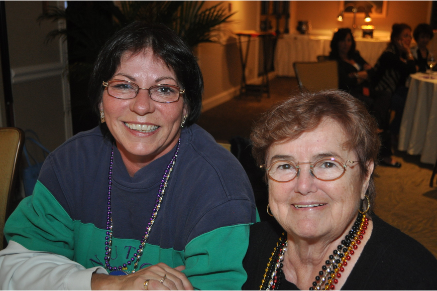 Karyn Powell and Anne Mueller at the Longboat Key Club