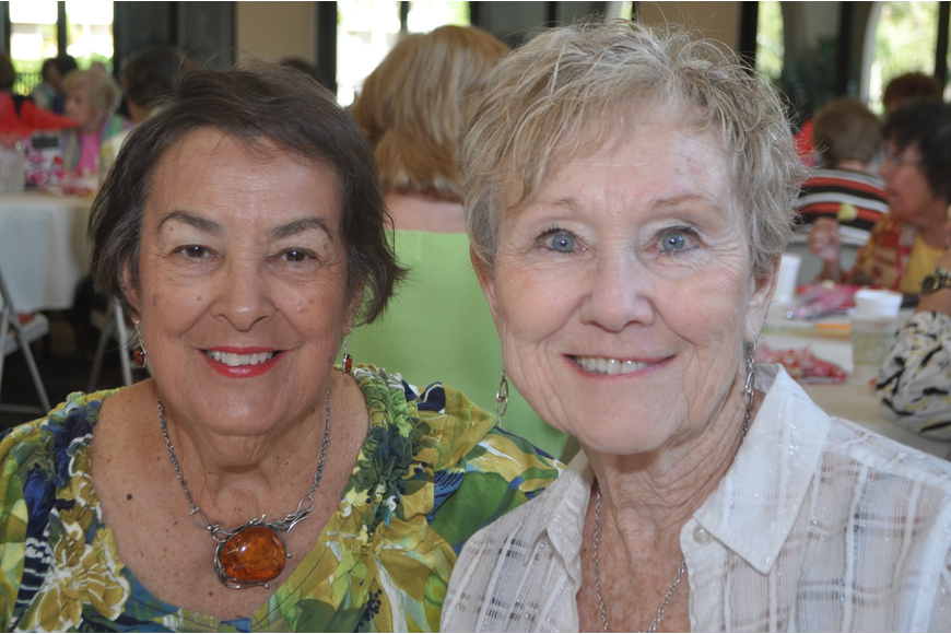 Viola Angelidis and Janet Milliken