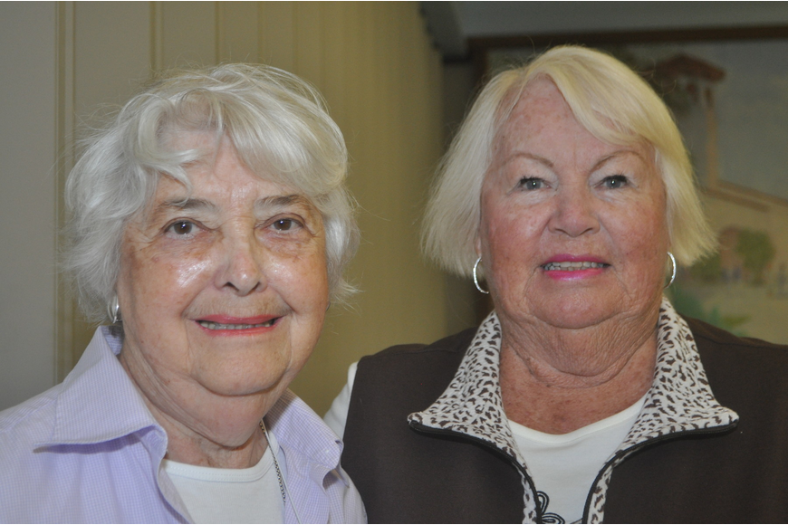 Marilyn Lami and Gerri Nagle
