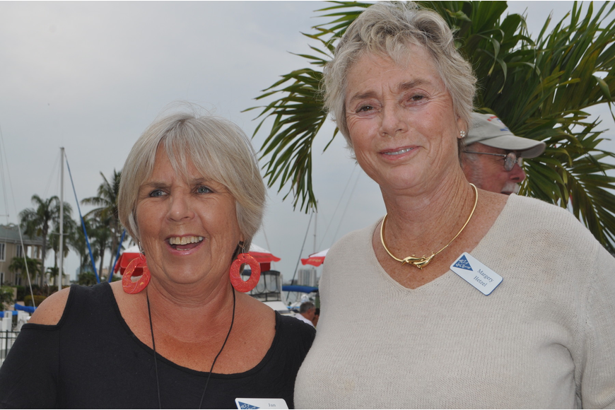 Jan Colby and Margery Hetzel