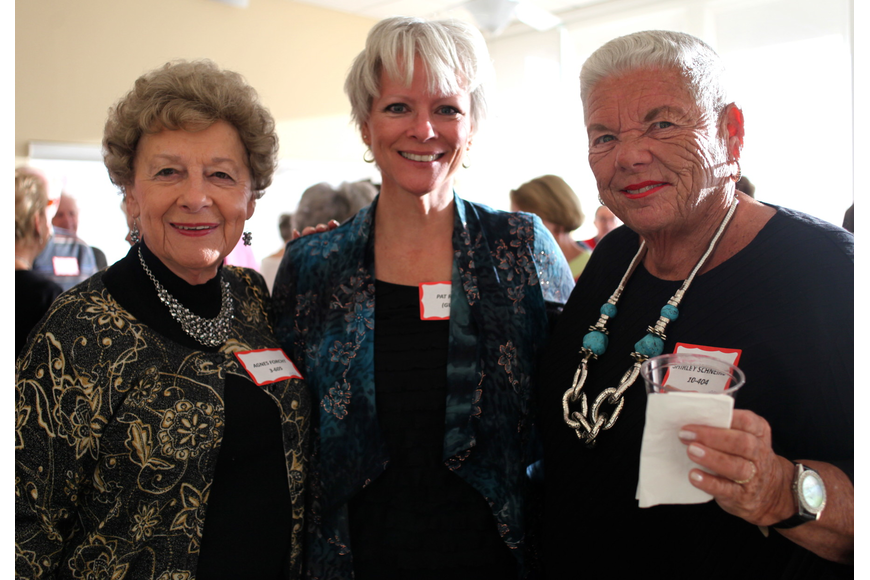 Agnes Forcht, Pat Risner and Shirley Schneirov