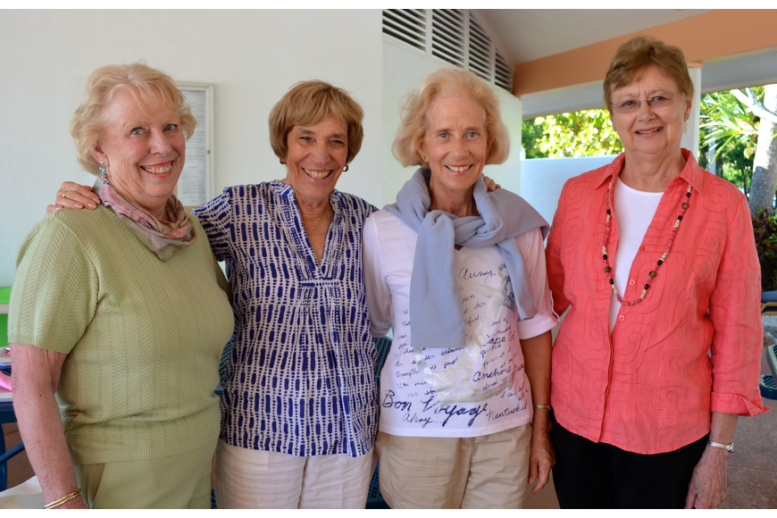 Barb MacLean, Jane Perin, Diana Emrich and Elaine Smith
