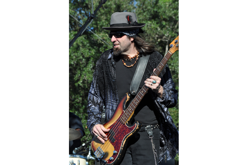 Scot Sutherland, bassist for The Tommy Castro Band