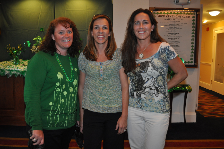 Colleen Sugg, Rhona Bohan and Julie Ferguson