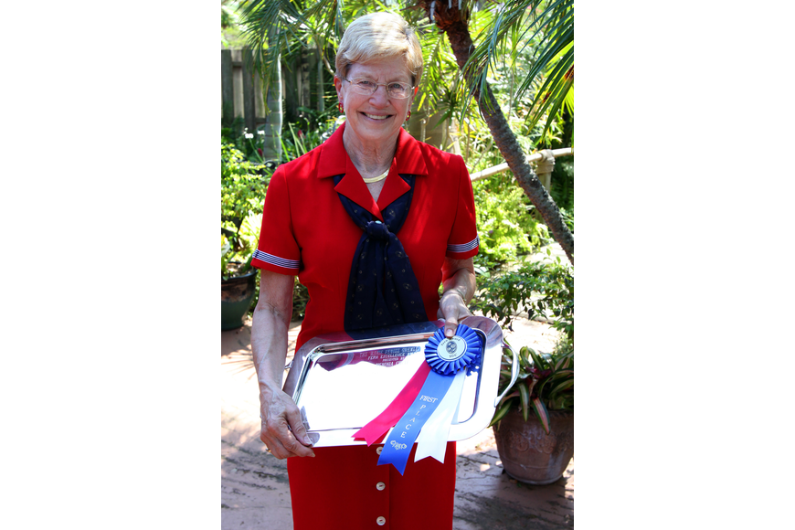 Sue Angle won the Horticultural Excellence award along with the Award of Merit for her fern on Sunday, March 27 during the 74th Annual Sarasota Garden Club Flower Show. Angle will soon be the first Vice President of the Florida Federation of Garden Clubs.