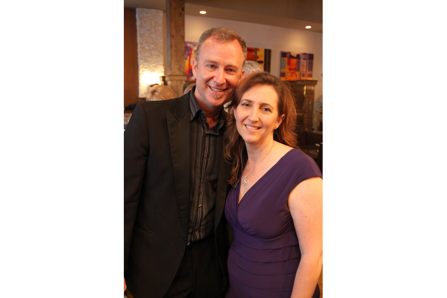 Artistic Director Jeffery Kin and Managing Director Michelle Bianchi Pingel