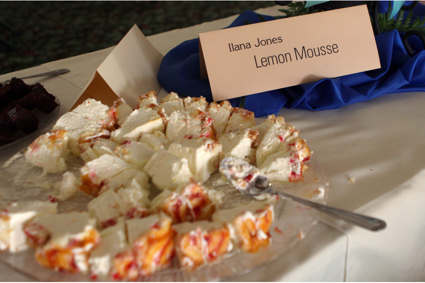 IIana Jones' Lemon Mousse was just one of the 37 desserts that people could enjoy at Family Promises' Third Annual Just Desserts event Friday, May 20 at Selby Garden's Great Room by the Bay.