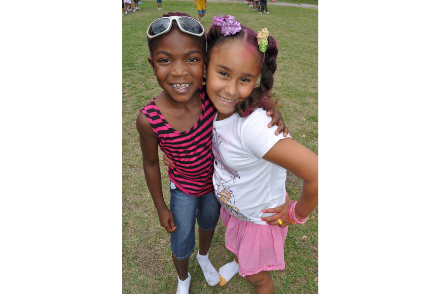 Ladericka Frazier and Amya Dunbar were proud to call themselves cousins.