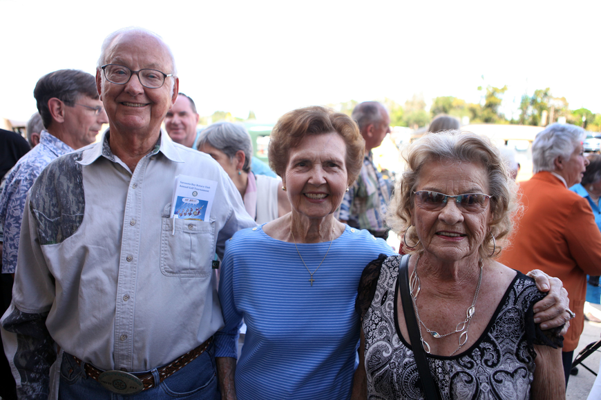 Welch Whitesell, Mary Scheb and Virgina Whitesell