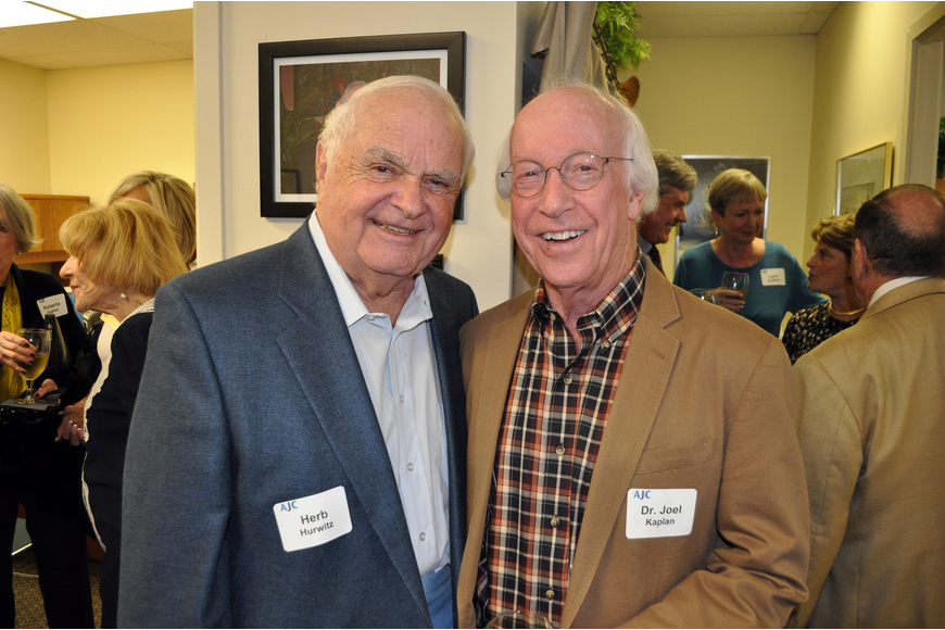 Herb Hurwitz and Dr. Joel Kaplan