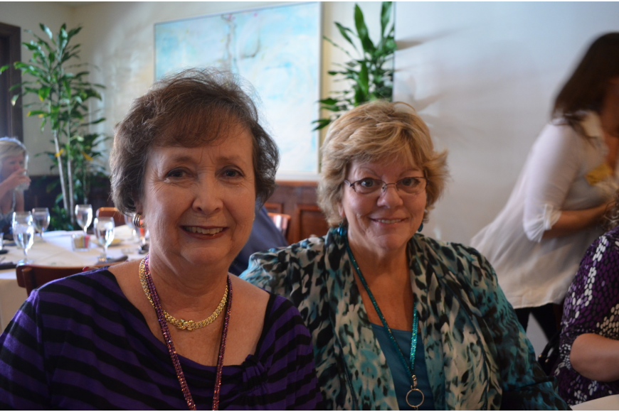 Mary Gamrot and Pat Martin of Pampered Movers of Sarasota.