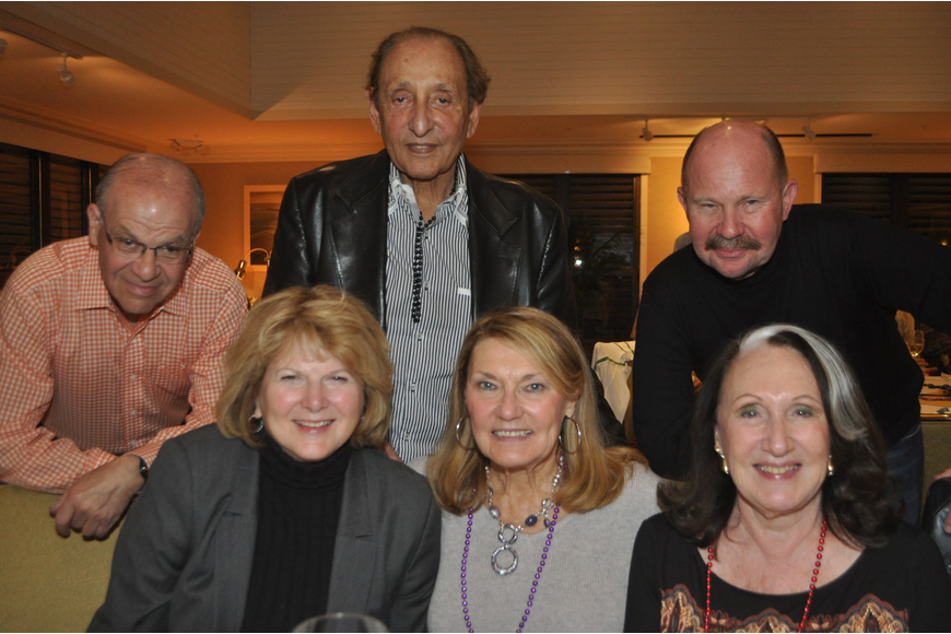 Jo and Stan Rutstein with Lisa Bezner and Vincent DiSimone, and Marilyn and Douglas Crossan at the Longboat Key Club