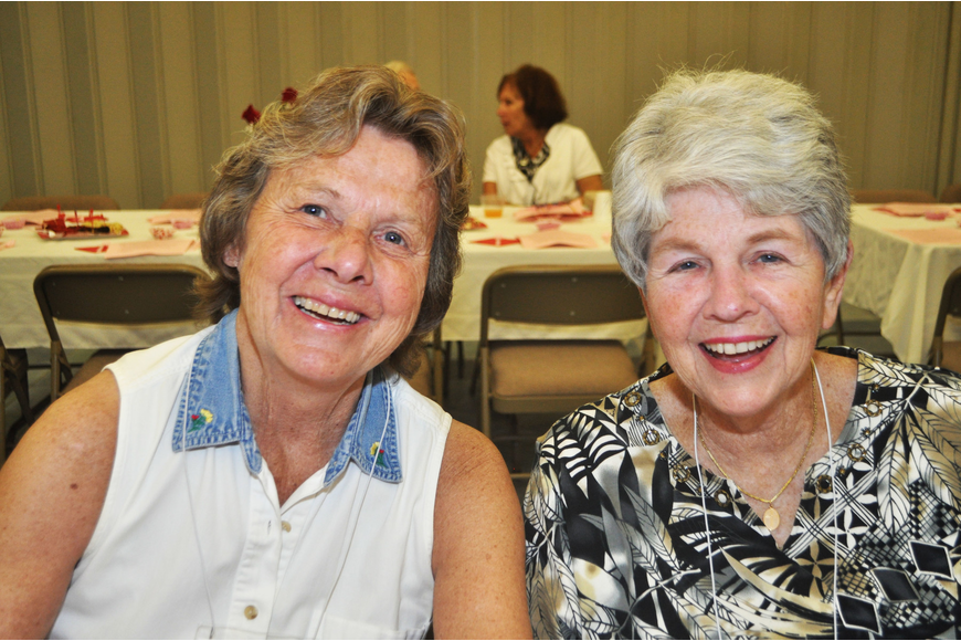 Kathy Warren and Eileen Hassel