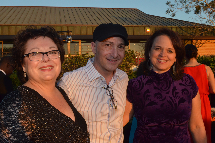 Deborah Obeid, Richard Steirmont and Kay Johnson