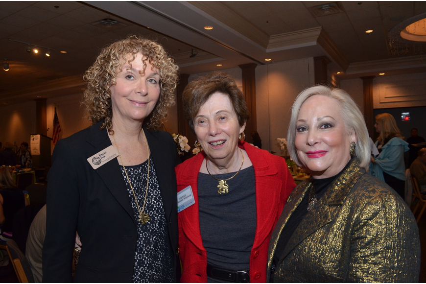 Ilene Fox, Hannah Weinberg and Susi Steenbarger