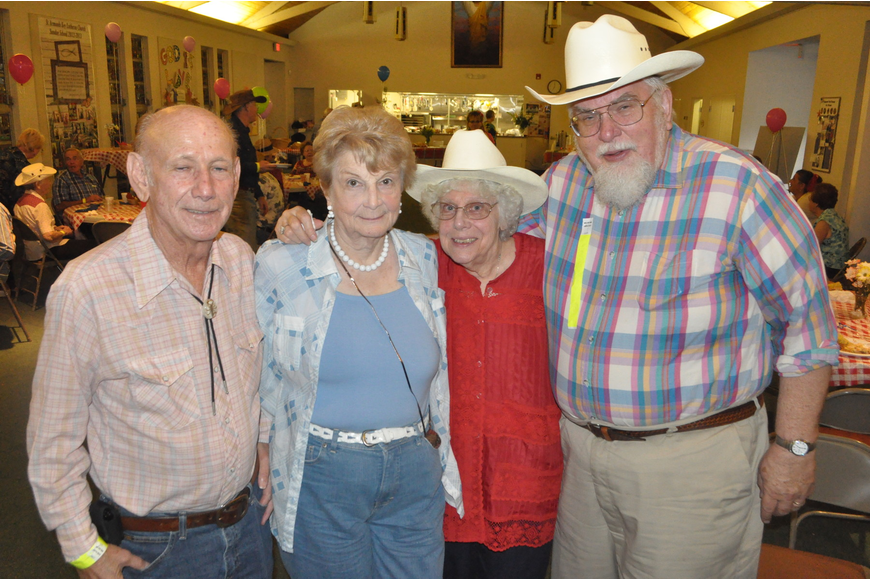 John and Cathy DeGeorge with Ruth and the Rev. Herb Mohlenhoff
