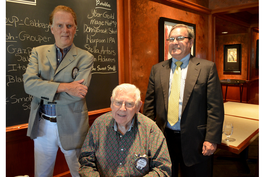 Jim Whitman, Bob Kromer and Richard Crawford