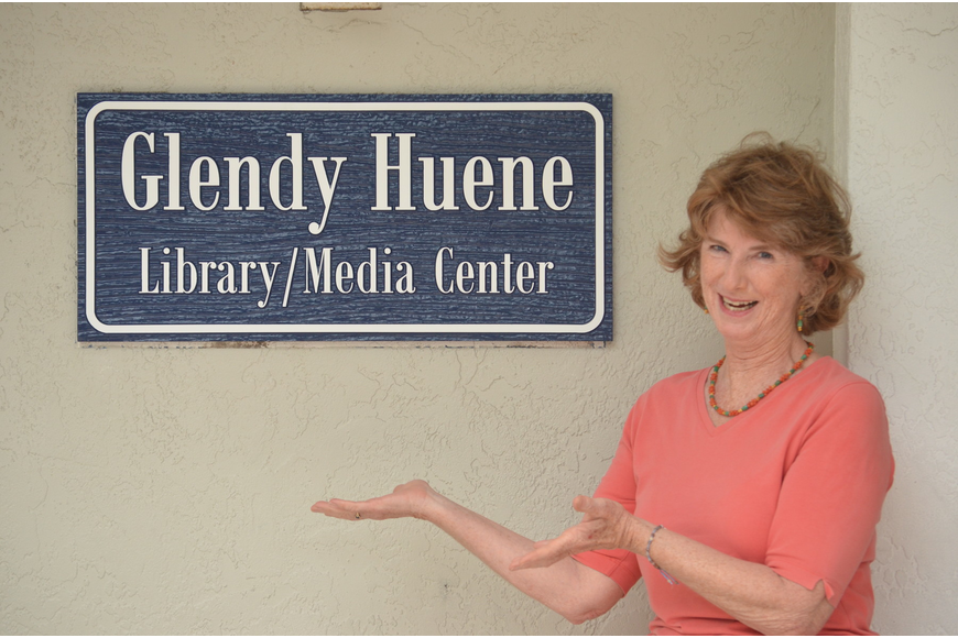 Glendy Huene has read to every single student who attended ODA in the past 30 years,