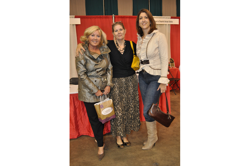 Donna Mateer, Pamela Cook and Tanya Foster