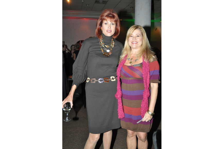 Marilyn Conroy and Doria Gomez