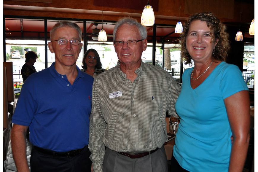 Ervin Helmuth, John Greeg and Mary Finnegan