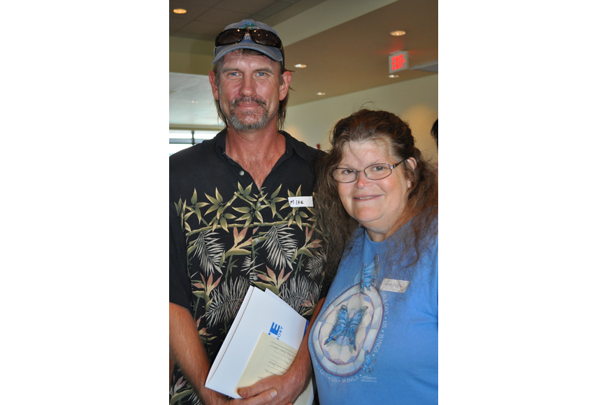 Mike VanMeeder and Donna Legg want to get involved as volunteers.