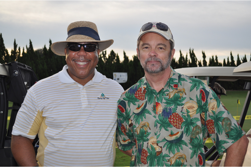 Chairman of the Tournament Charles Stephens and Ken Larrabee