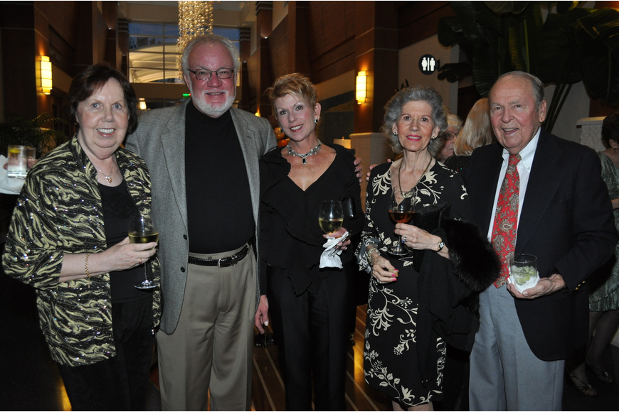 Mickey Brunke, Gary and Sherry Moore, Rene Walker and Richard Loeber