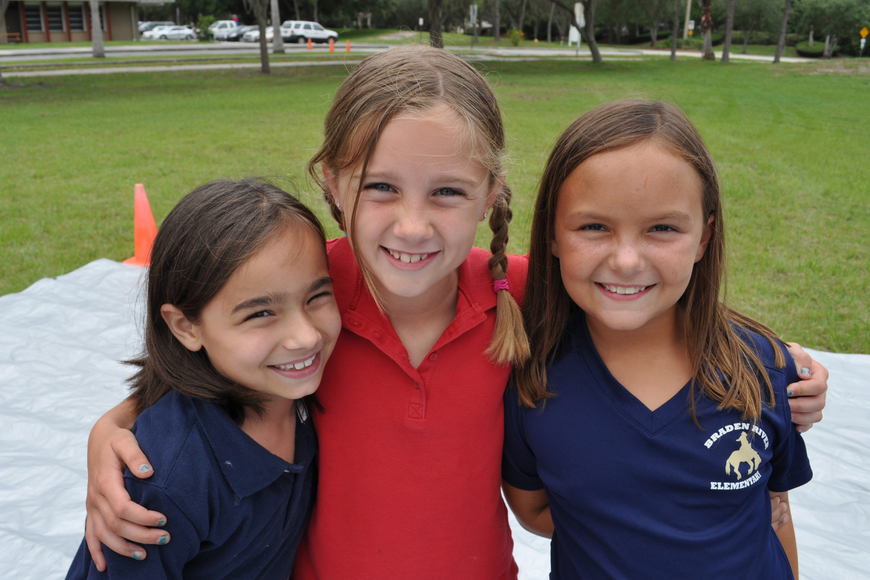 Gabriella Rodriguez, Taylor Golden and Alyssa Andersen are in the same second-grade class.