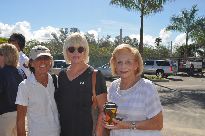 Betsy Palmieri, Jan Grzep and Rose Tomason