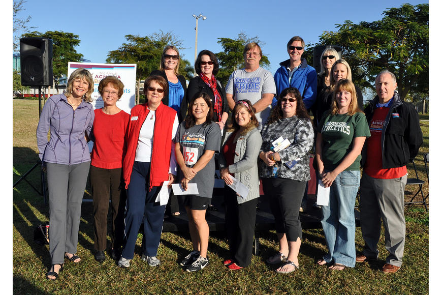 Achieva awarded ten $1500 grants to ten Sarasota County School District teachers.