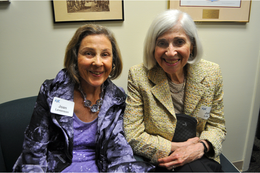 Joan Levenson and Joan Litzky