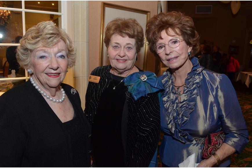 Ina Rae Levy, Jean Wallace, Liliane Sealy-Schrock