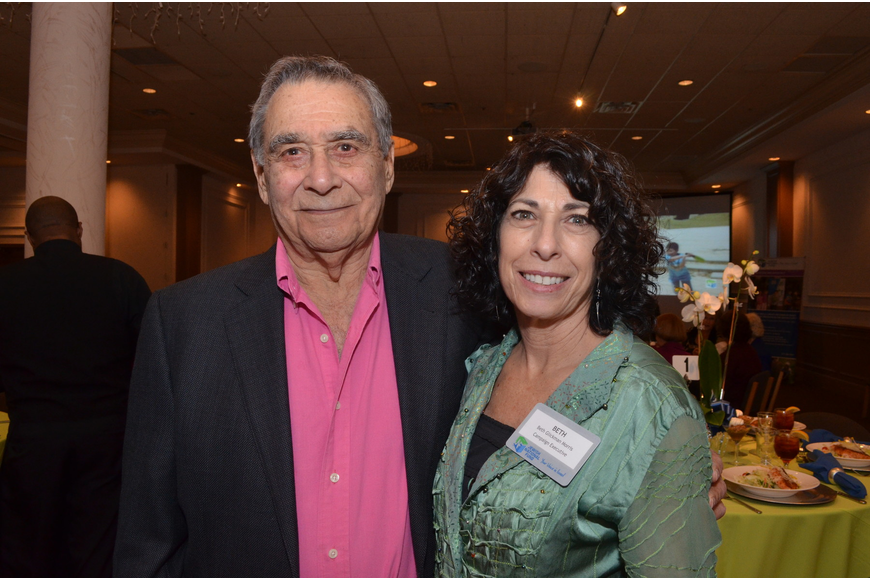 Ed Kalin and Beth Glickman