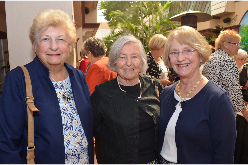 Jo Shults, Nancy Kuchan and Marilyn Buchanan