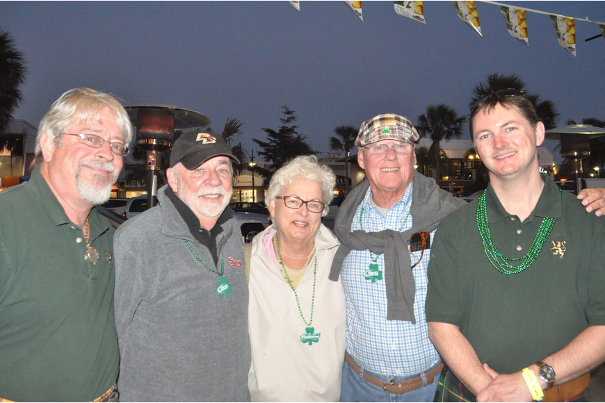 Larry Jacobs, Peter Quinn, Mary and Bill Sanders and Brian States