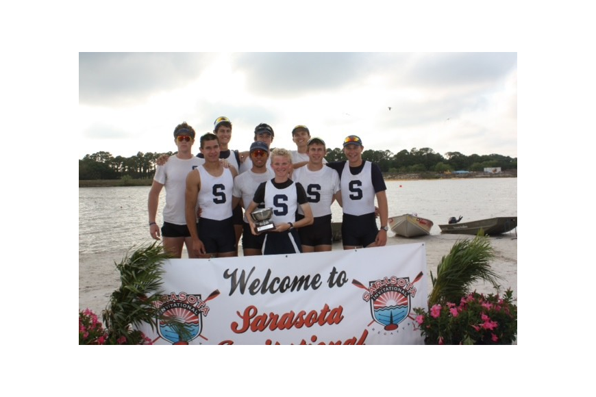 Sarasota Crew Boys V8+ Winners of the Diamond Vault Cup 2013